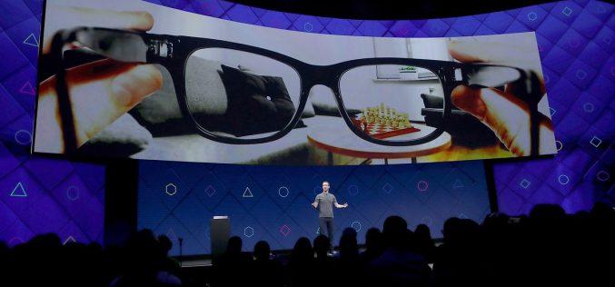 Facebook lavora ai suoi occhiali per la realtà aumentata