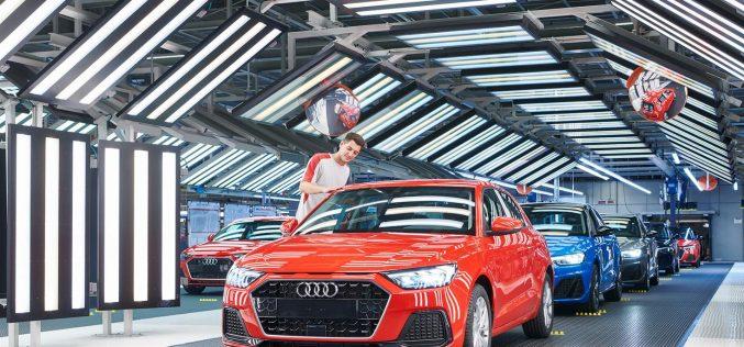 Audi A1: parte la produzione nello stabilimento SEAT di Martorell