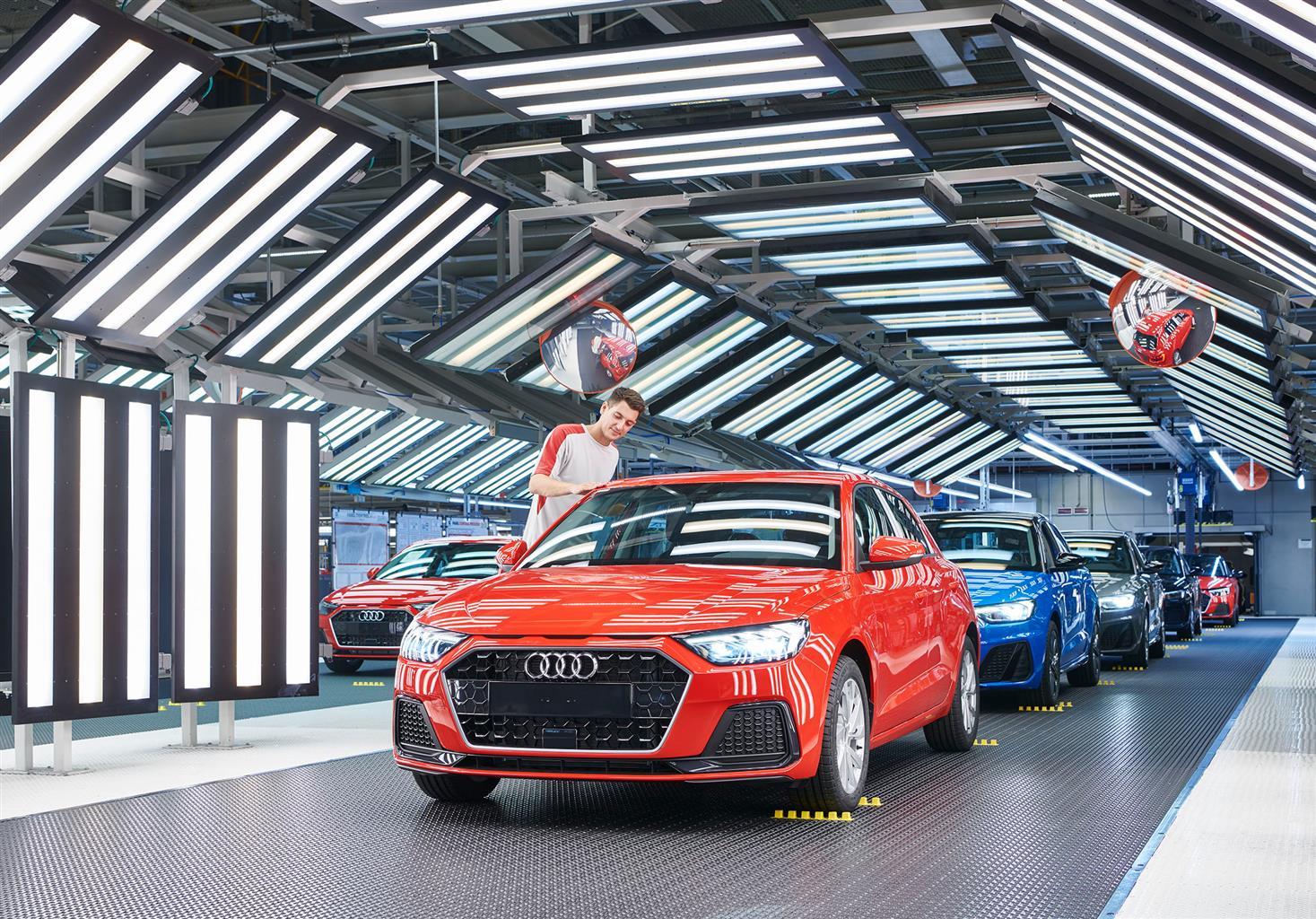 Audi A1: al via la produzione nello stabilimento SEAT di Martorell