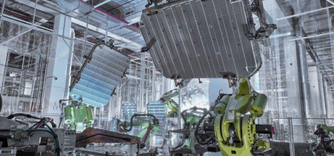 Audi e-tron: alluminio sostenibile per l'alloggiamento delle batterie