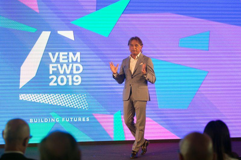Evento VEM sistemi #VEMFWD2019 Building Futures
