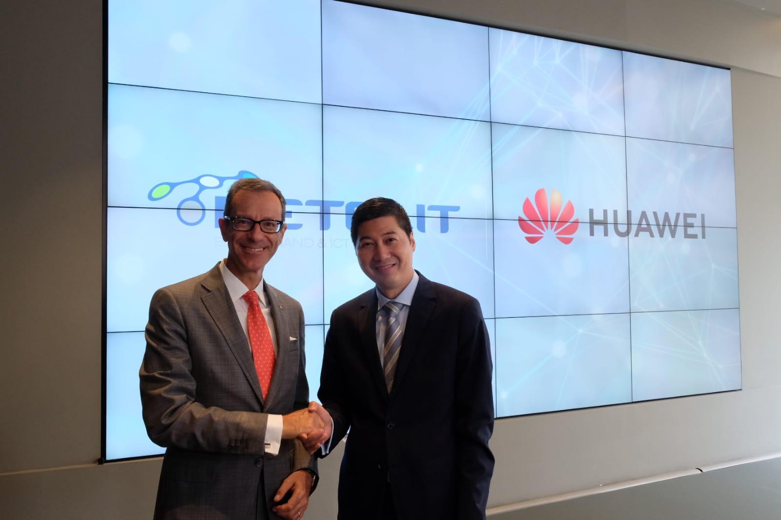 Retelit e Huawei insieme per supportare le aziende nella digital transformation