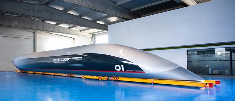 HyperloopTT prima capsula per passeggeri