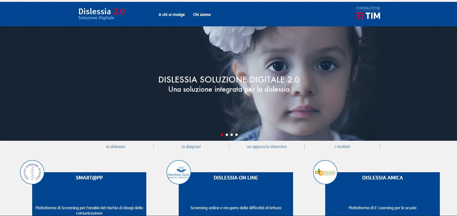 Dislessia 2.0: la piattaforma per lo screening digitale gratuito