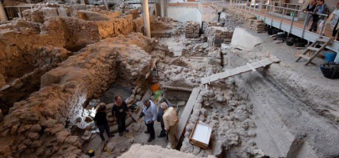 Scoperte archeologiche ad Akrotiri grazie a Kaspersky Lab