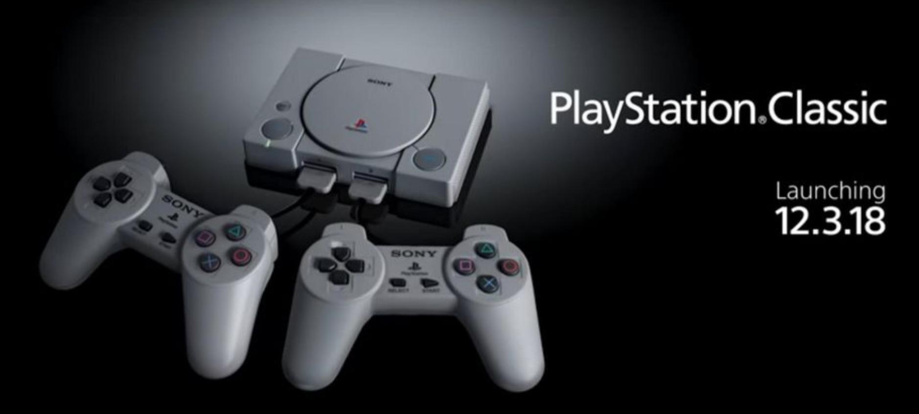 PlayStation Classic, ecco l'elenco dei giochi inclusi