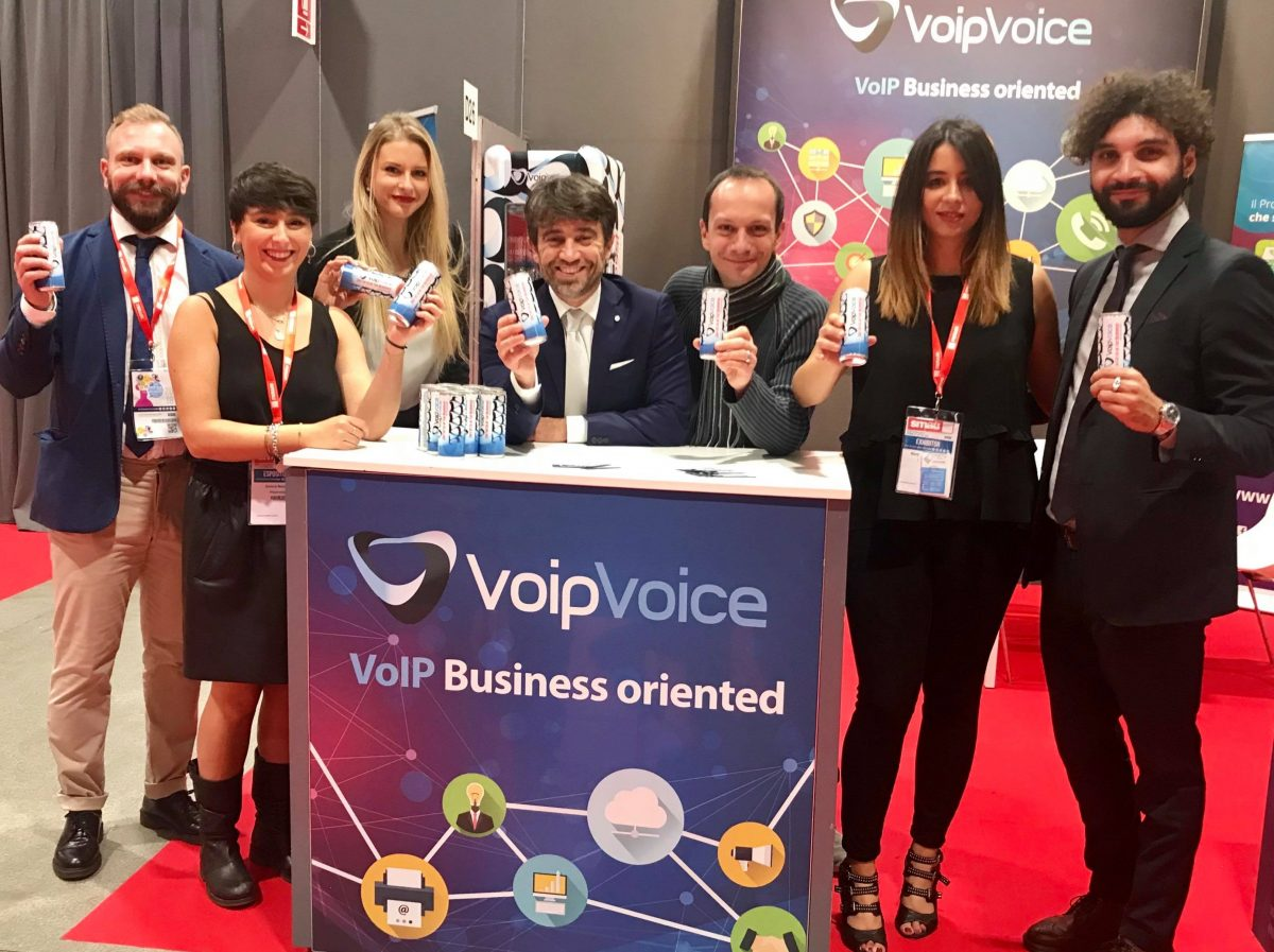 Team VoipVoice a Smau