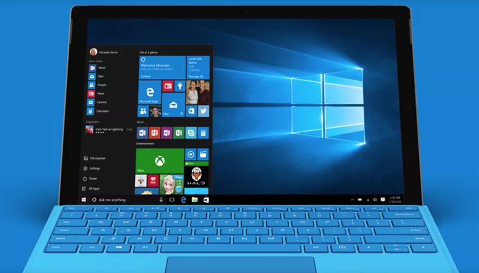 Solo un quinto dei computer gira con l'ultima versione di Windows 10