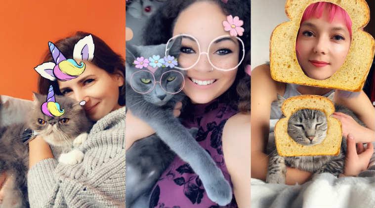 Snapchat Cat Lens