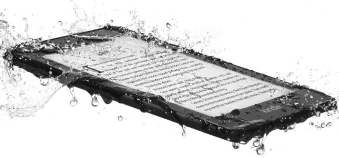 Ecco il nuovo Kindle Paperwhite: più leggero e resistente all'acqua
