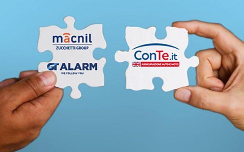 Accordo tra Macnil GT Alarm – Gruppo Zucchetti e ConTe.it: sconti assicurativi con la scatola nera 4.0