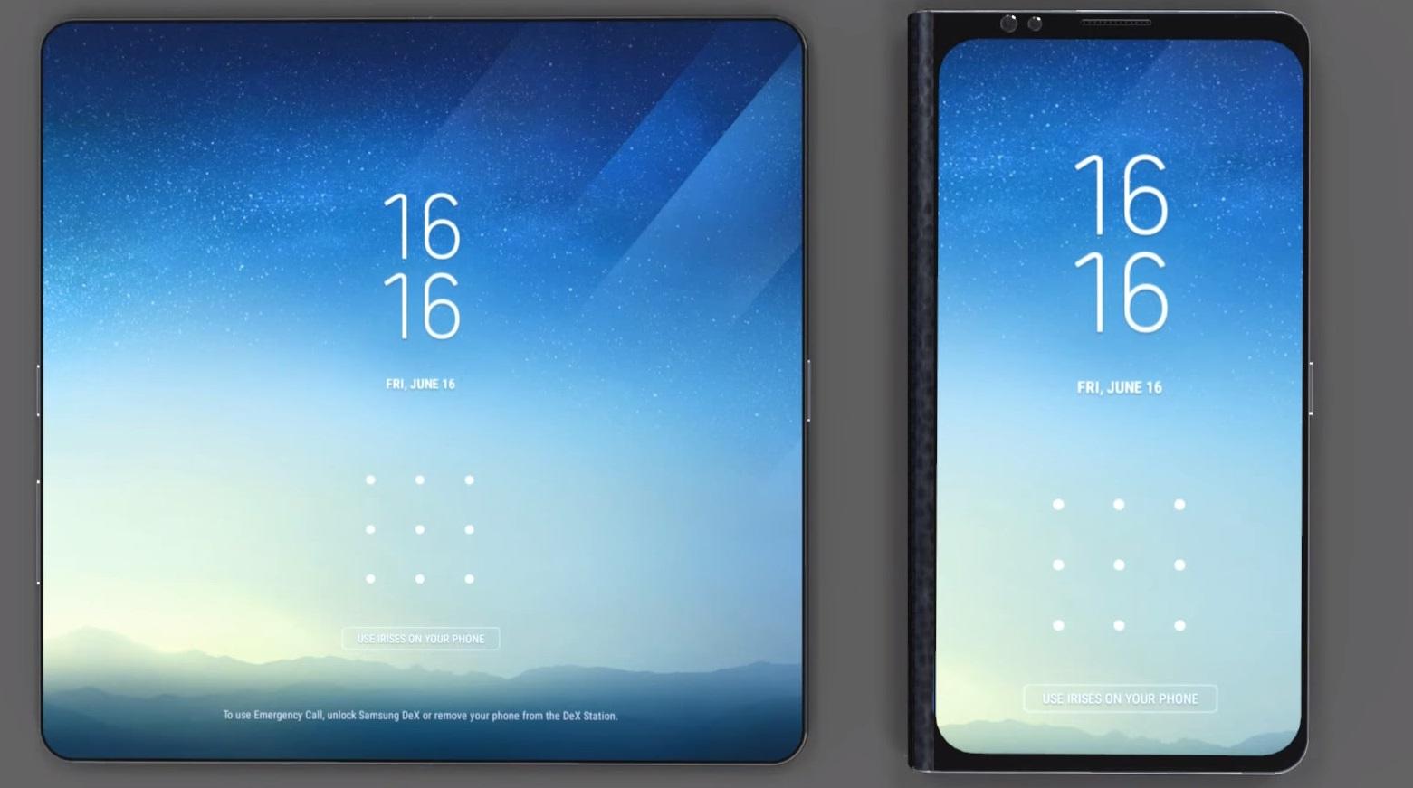 Galaxy X, lo smartphone pieghevole di Samsung