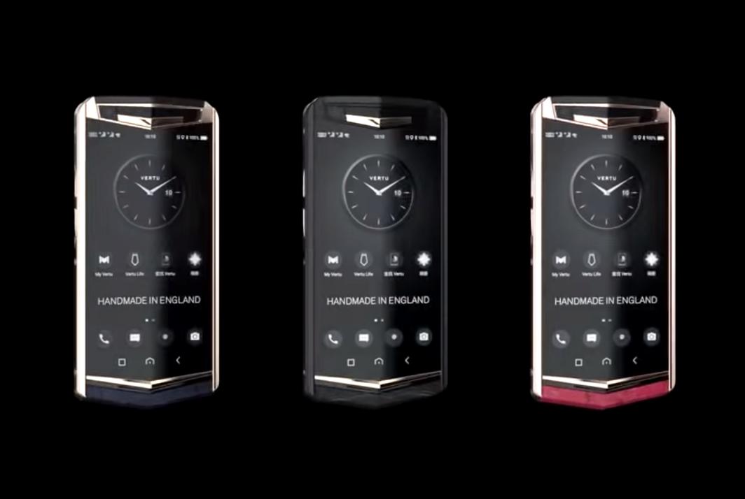 Vertu è tornata con Aster P, smartphone da 12mila euro