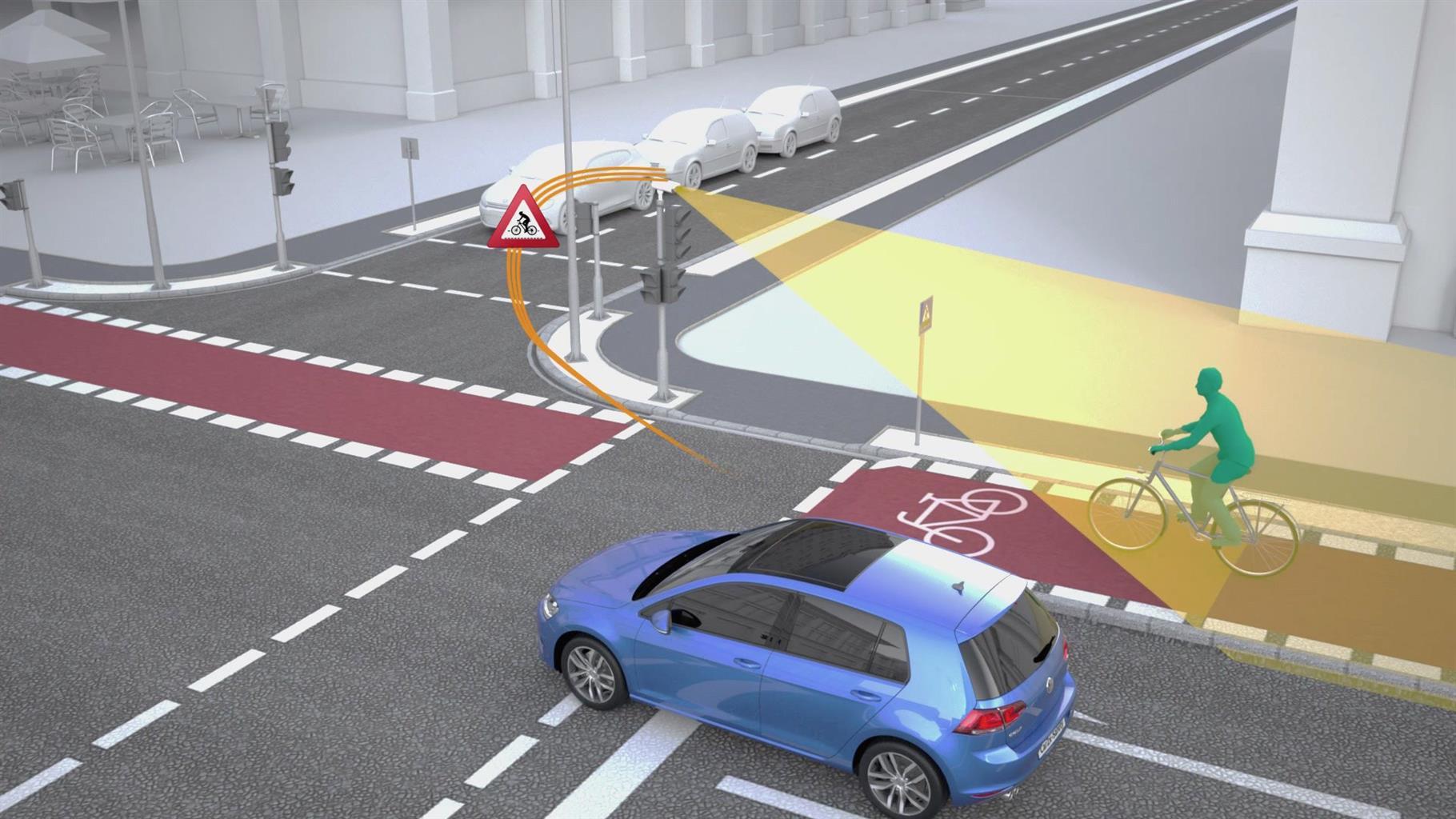 Volkswagen e la Siemens insieme per la sicurezza degli incroci stradali