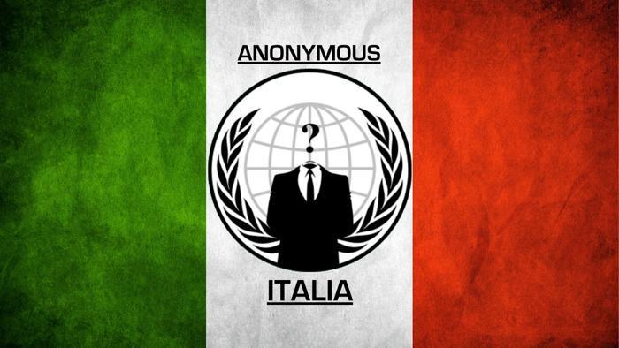 Anoymous Italia all'attacco