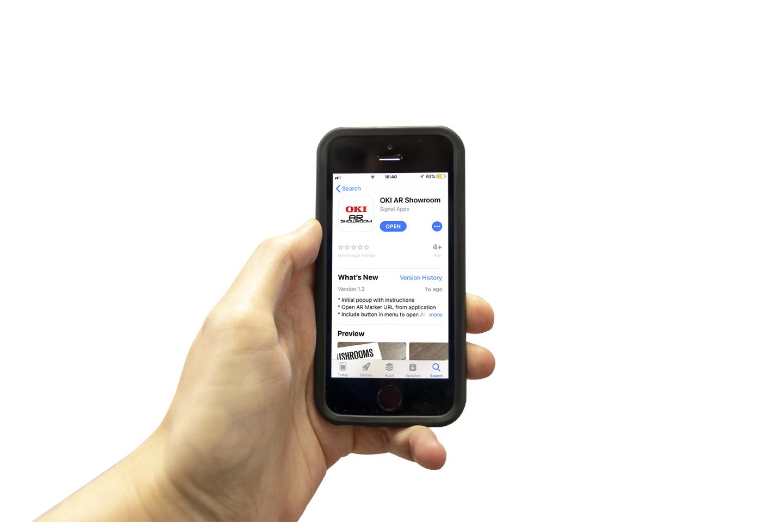 OKI Europe lancia l'app per la realtà aumentata