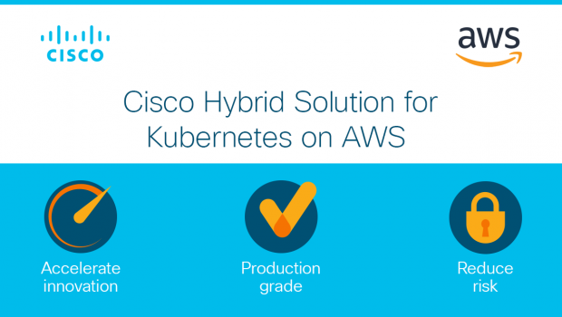 Cisco Hybrid Solution for Kubernetes on AWS semplifica la gestione di Kubernetes on-premises