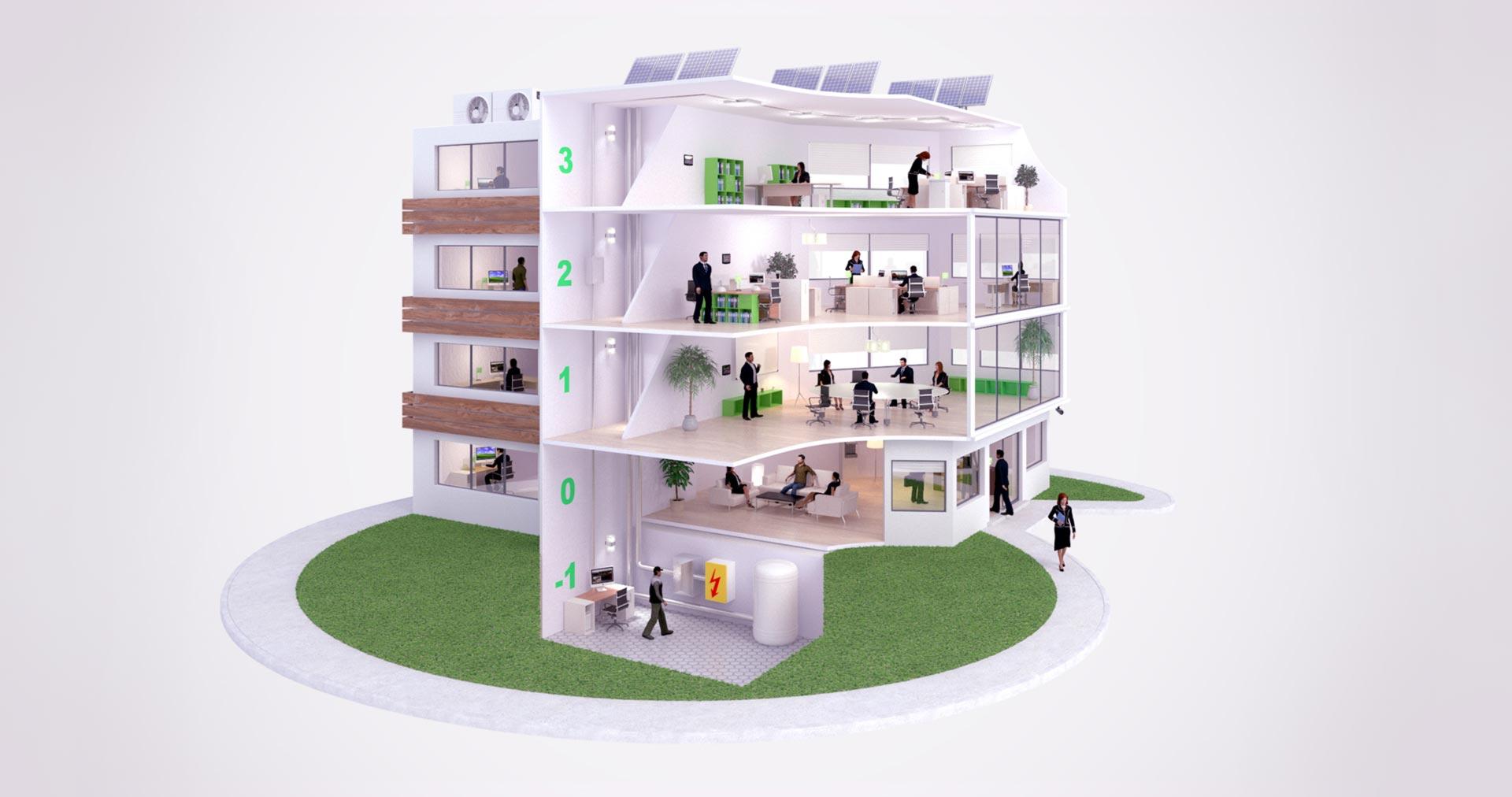 EcoStruxure Building di Schneider Electric
