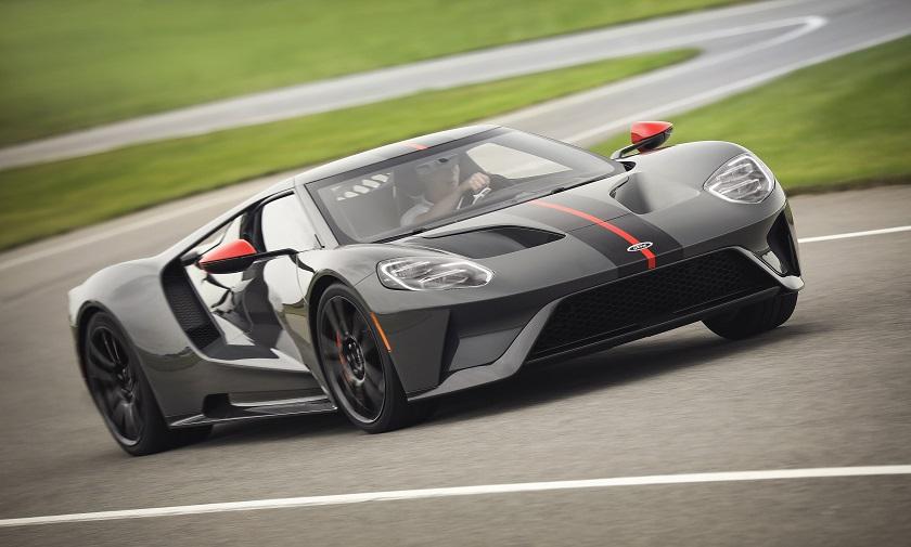 Ecco la nuova Ford GT Carbon Series 2019