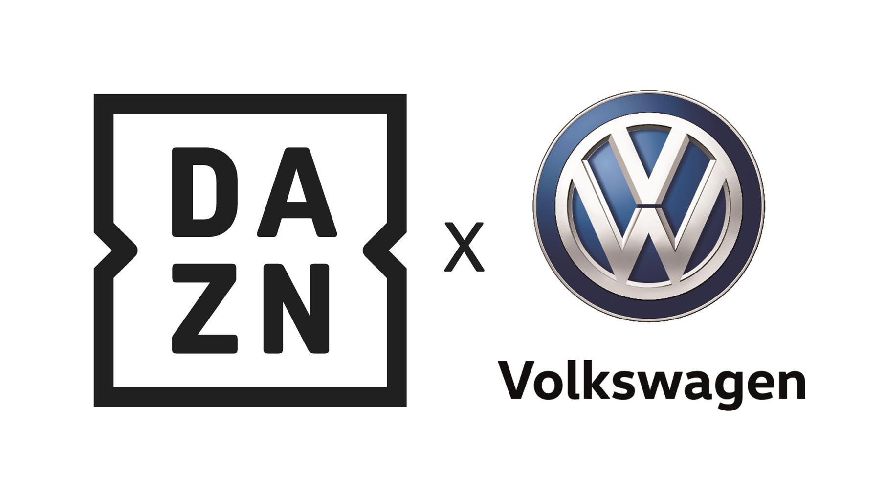 Volkswagen e DAZN insieme per l'innovazione