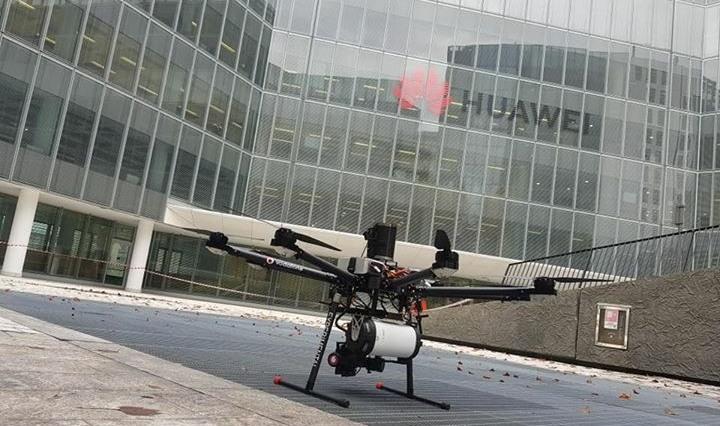 A Milano arriva il drone 5G per la pubblica sicurezza