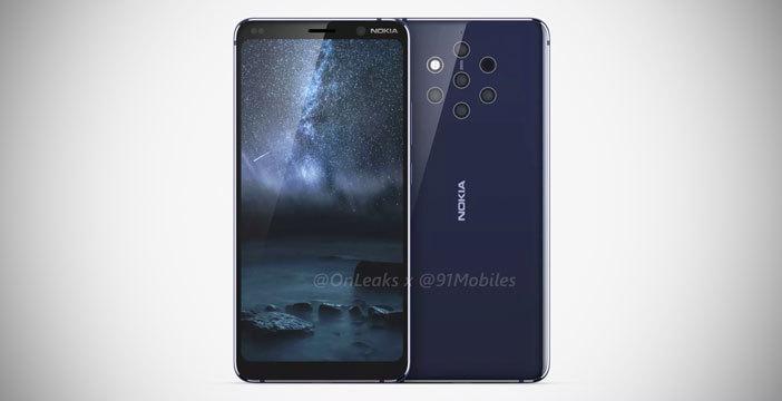 Il primo render di Nokia 9