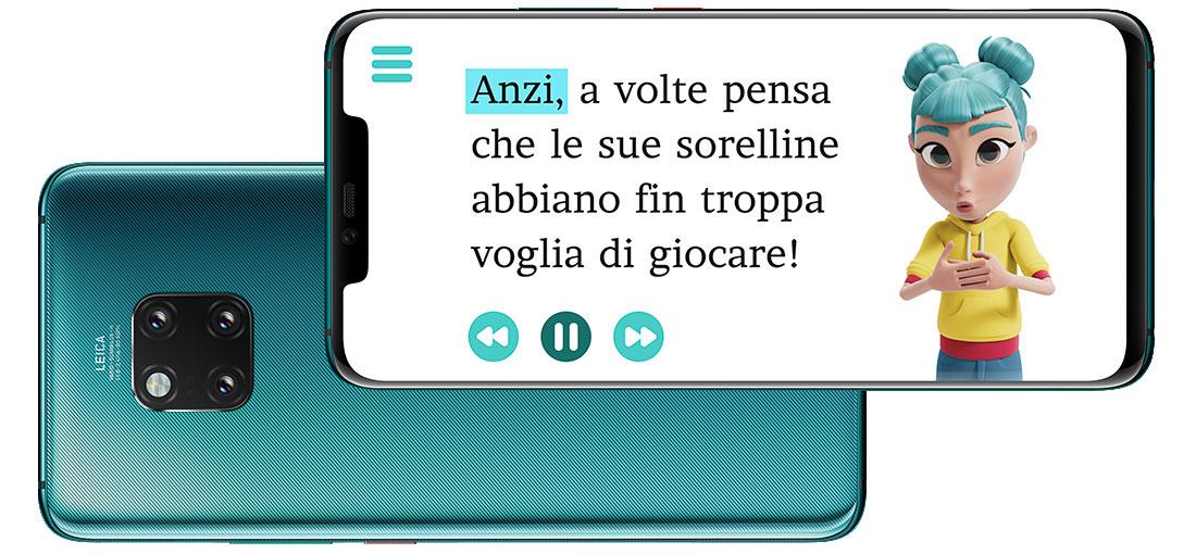 App per non udenti Storysign all'opera