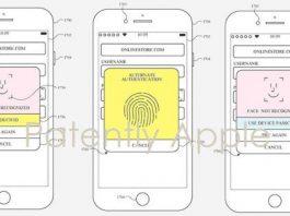 Apple brevetta un iPhone con Face ID e Touch ID