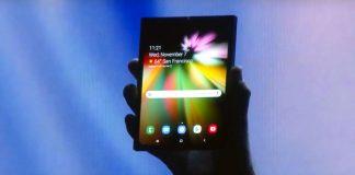 Samsung Galaxy F Infinity Flex Display