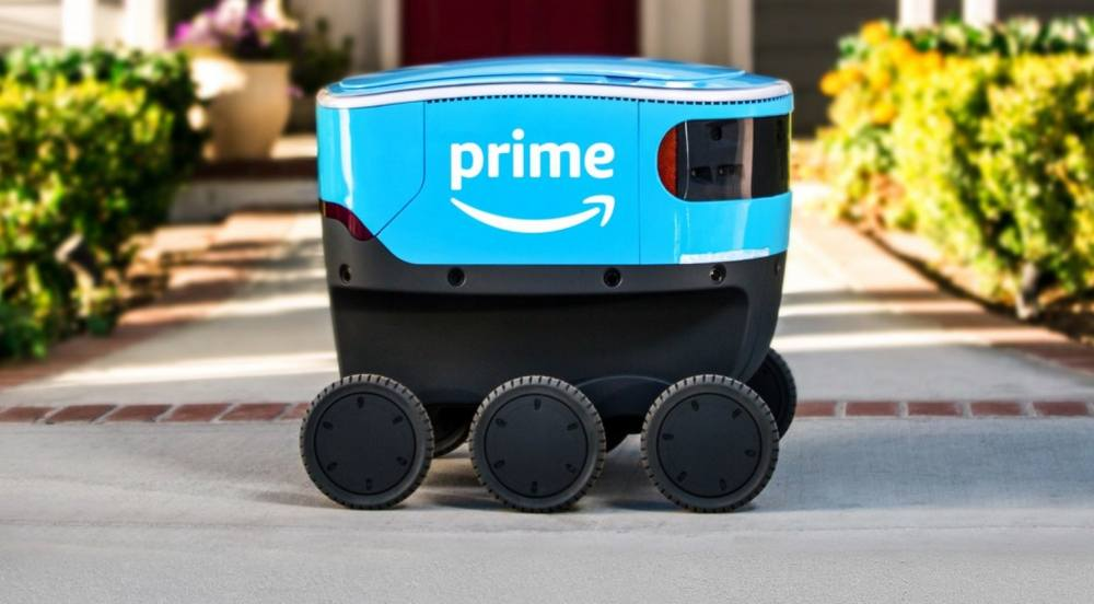 Amazon Scout, il robot corriere di Amazon