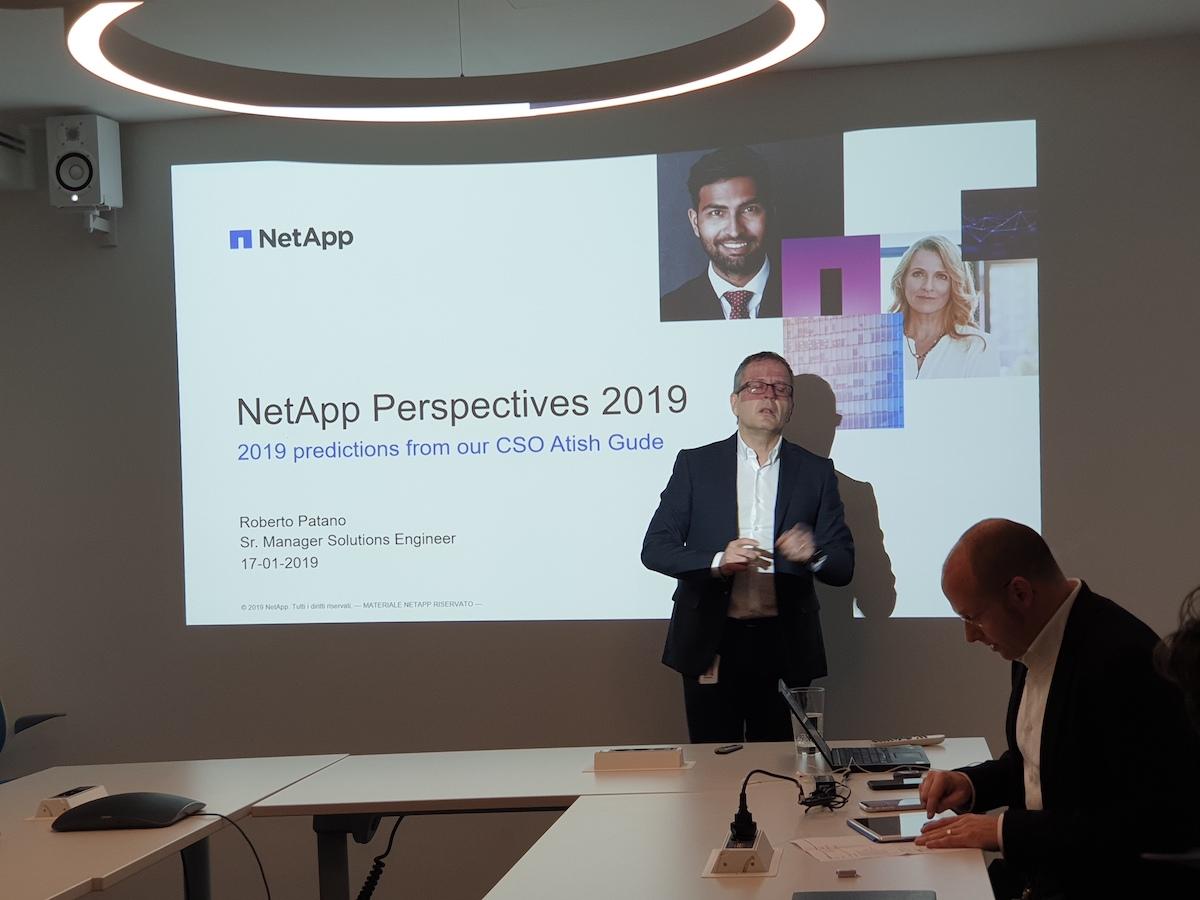 2019, il futuro nelle previsioni di NetApp