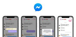 Messenger introduce la possibilità di cancellare i messaggi inviati