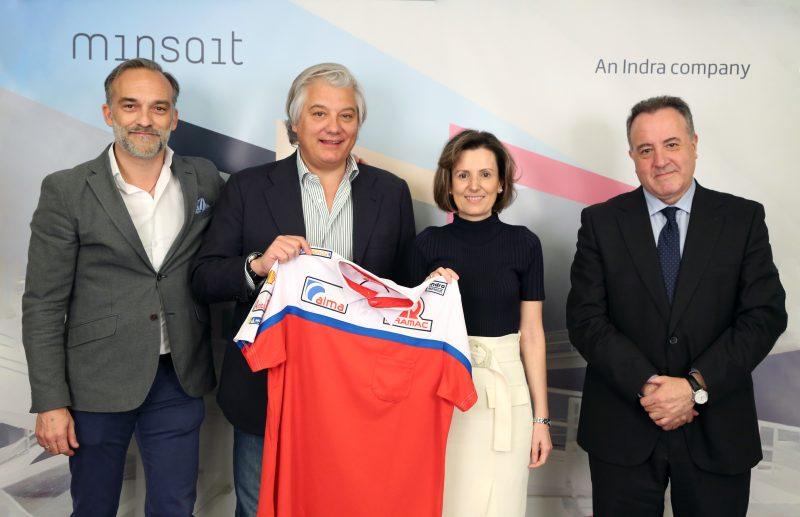 MINSAIT sponsor del team italiano di MotoGP Alma Pramac Racing