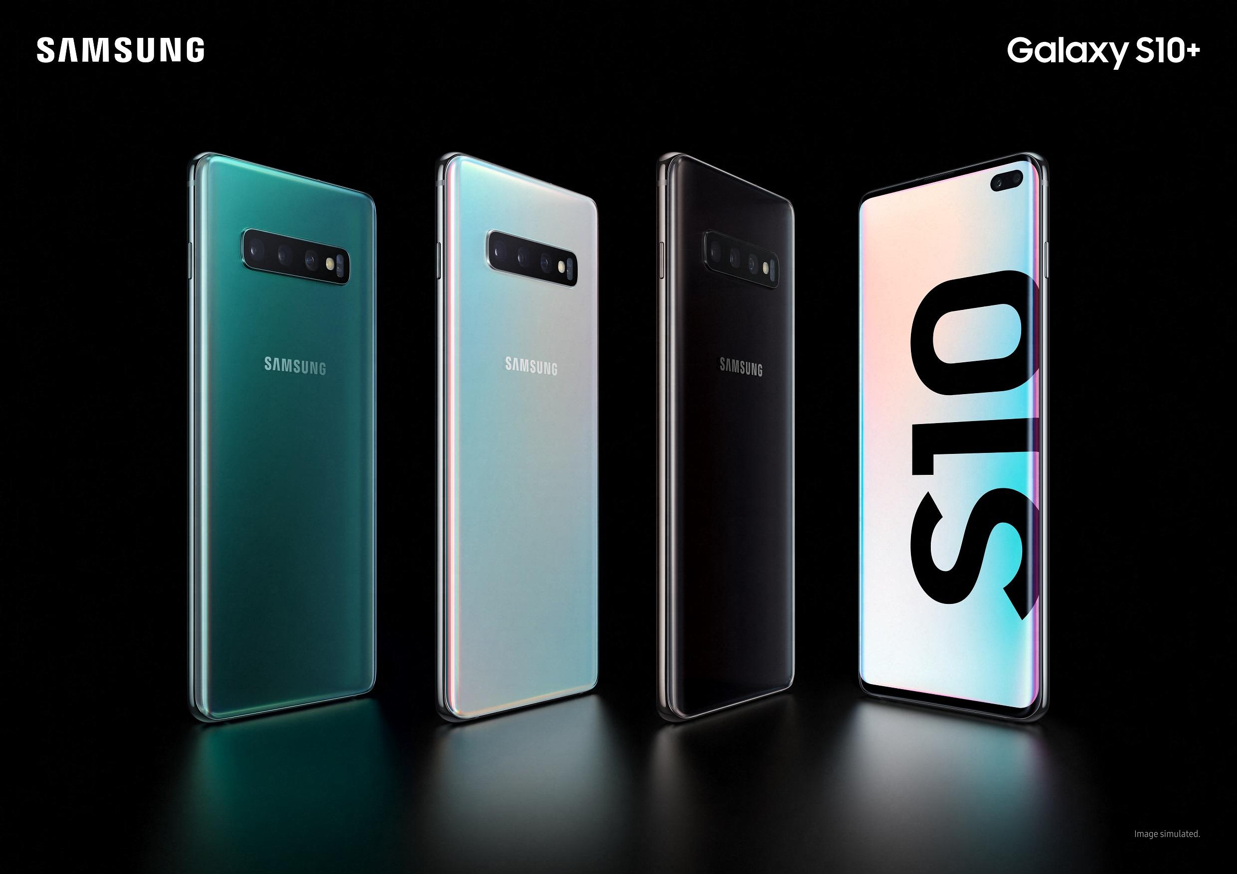 Samsung svela Galaxy S10, Galaxy S10+, Galaxy S10e e molto altro...