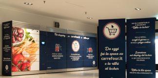 Carrefour, arriva a Milano il locker per il ritiro della spesa online