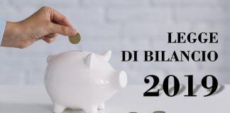 Legge di Bilancio 2019: tutte le novità