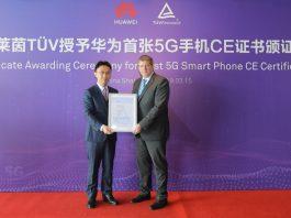 Huawei Mate X riceve il primo certificato CE per il 5G