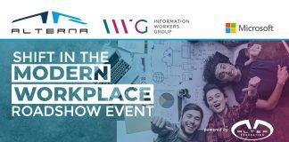 Shift in the Modern Workplace: il Roadshow di Alterna e IWG