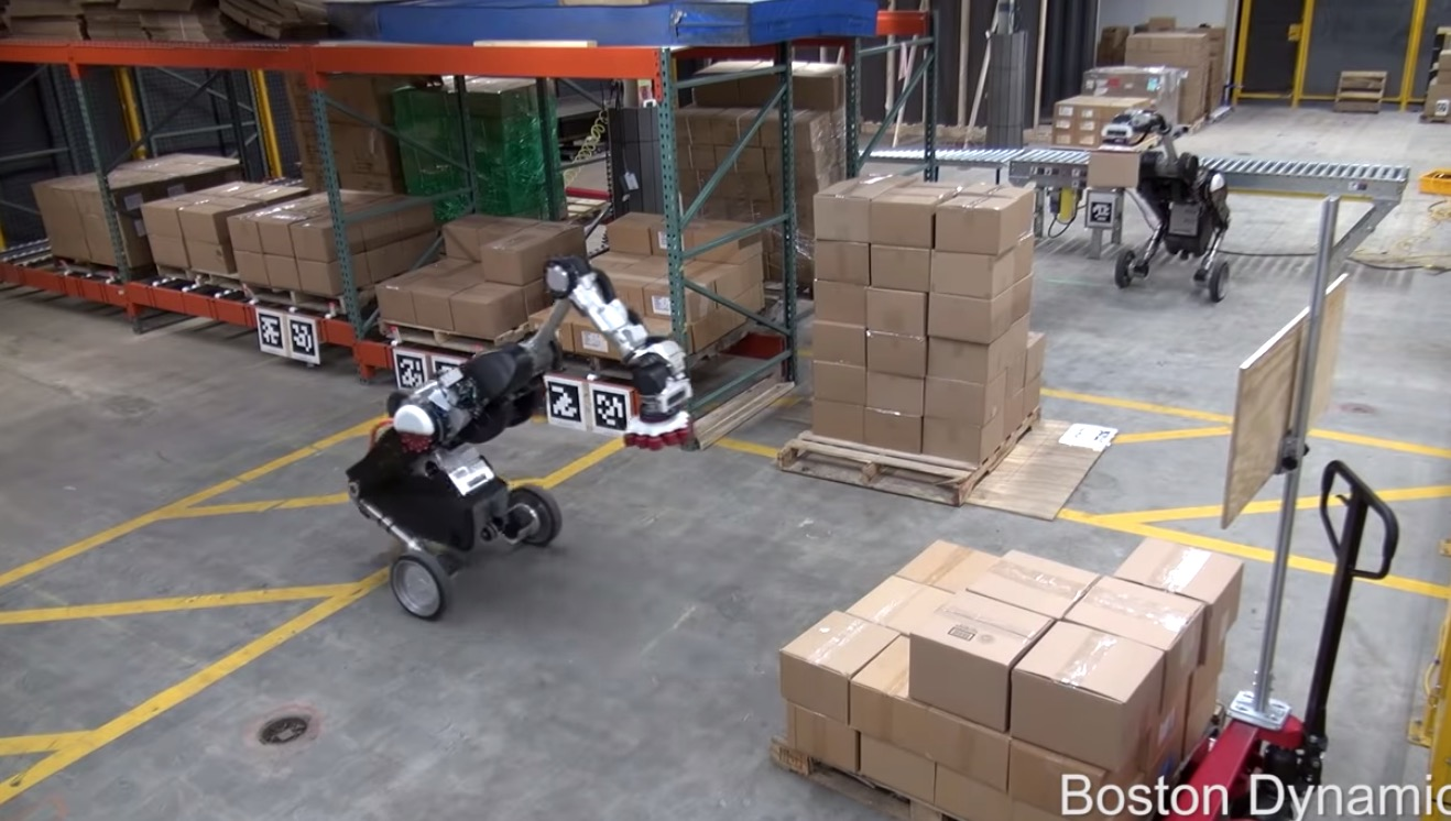 Questo è l'ultimo robot della Boston Dynamics