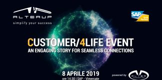 Altea UP organizza l'evento CUSTOMER/4LIFE EVENT