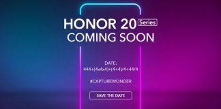 Honor 20 arriva il 21 maggio