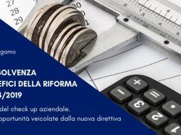 """Seminario """"Crisi d'Impresa e Insolvenza: cause effetti e benefici della riforma d.lgs 14/2019"""""""