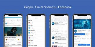 Facebook Film arriva in Italia