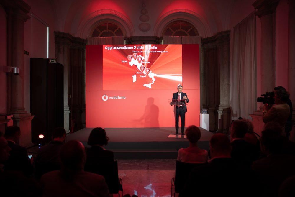 Vodafone lancia il 5G in Italia