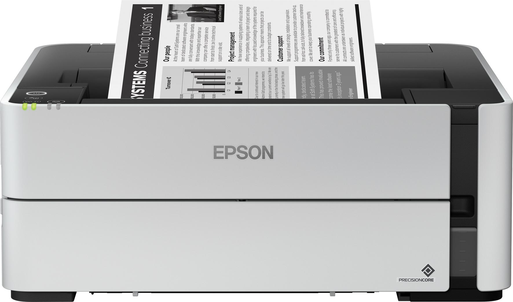 Epson EcoTank: arrivano due nuovi modelli monocromatici per l'ufficio