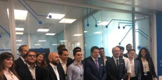il premier Conte visita la Cisco Academy di Napoli
