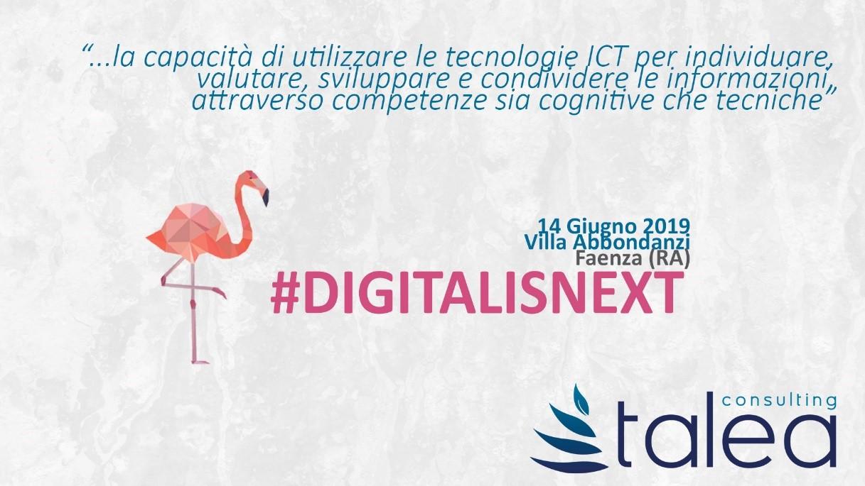DigitalisNext: appuntamento il 14 giugno