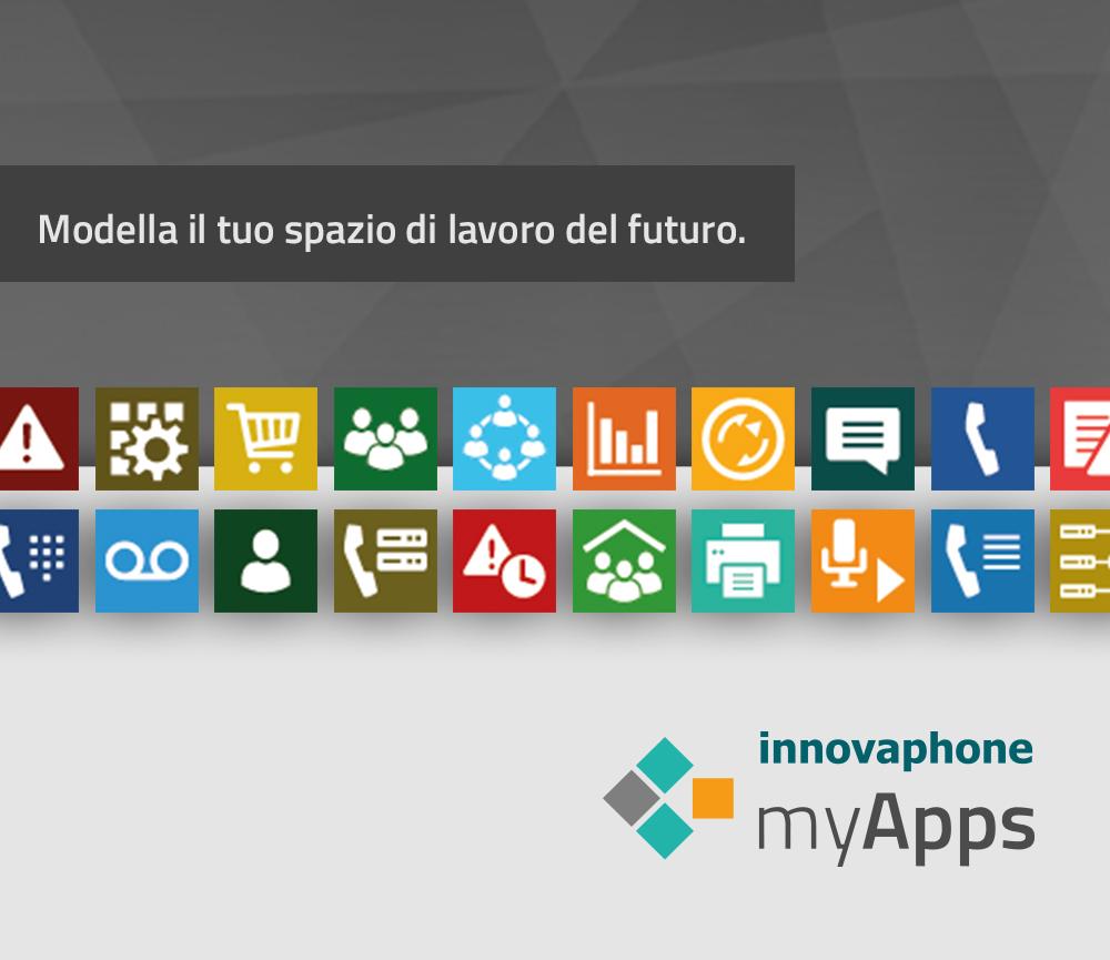 Lo spazio di lavoro del futuro con innovaphone myApps