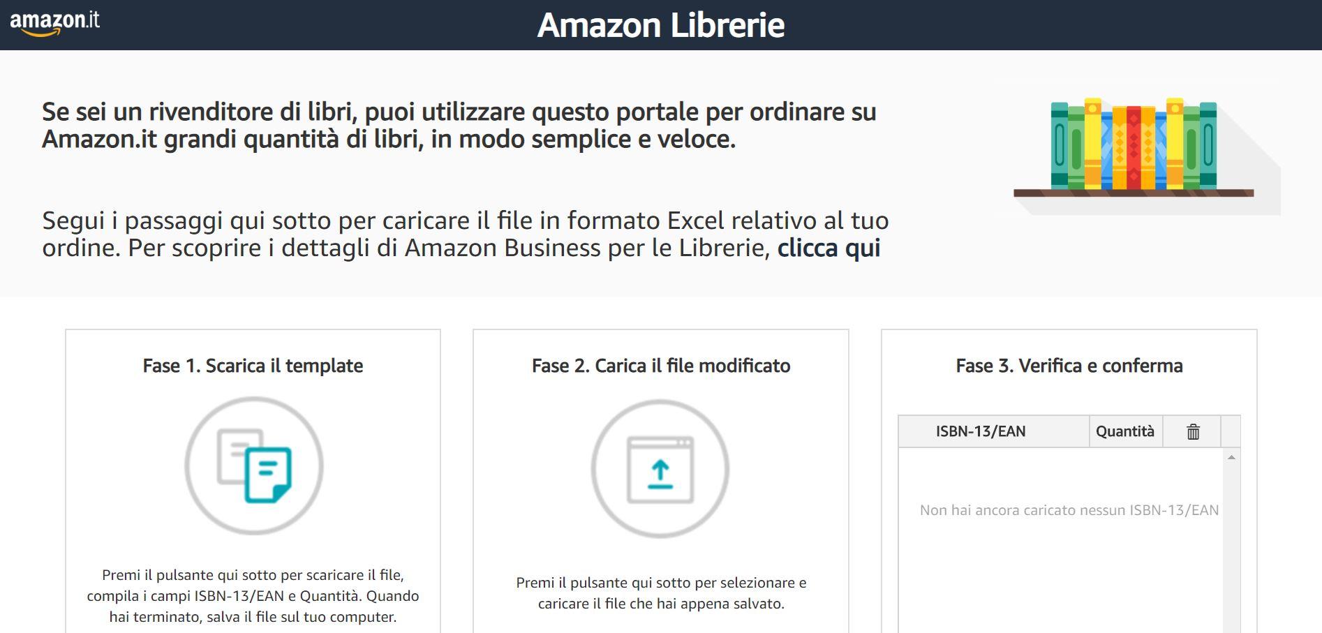 Nuovo Amazon Business per le Librerie