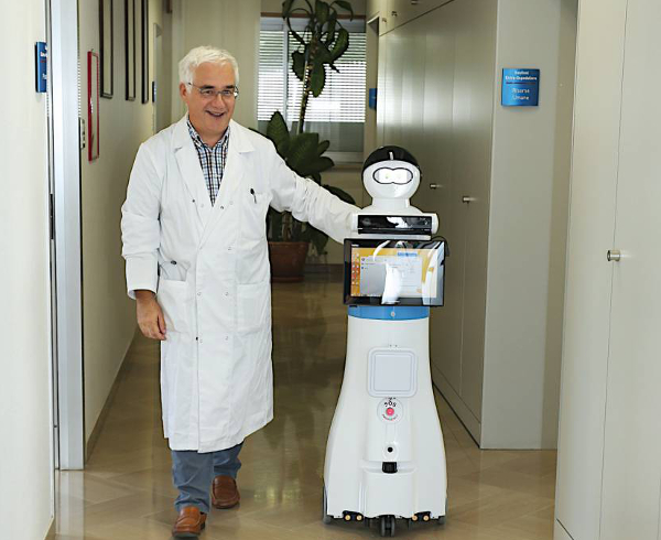 Robot in corsia: Exprivia presenta il progetto Si-Robotics